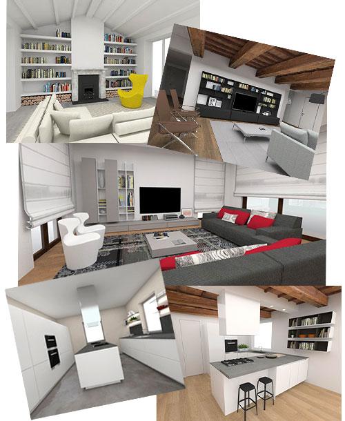 arredamento design per la casa, progettazione d'interni ... - Arredamento Interni Progetti