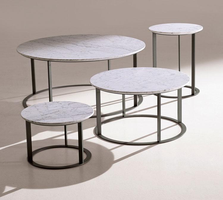spesso tavolino in marmo Mera design Antonio Citterio per B&B Italia EJ58
