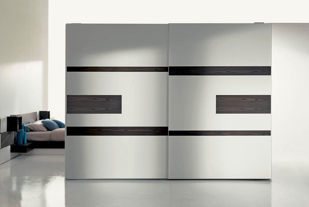 armadio scorrevole fimar con tecnologia porta tv