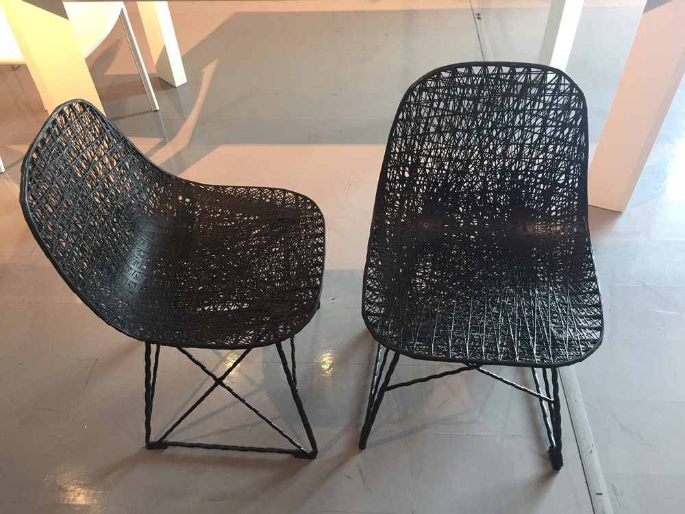Outlet sedia carbon chair moooi